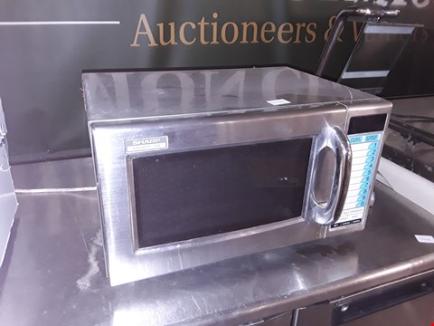 Lot 6 COMMERCIAL SHARP 1000W MICROWAVE