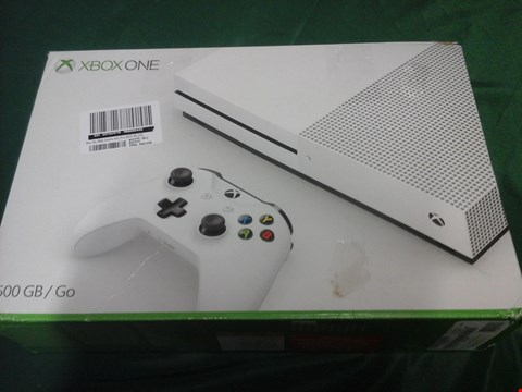Lot 1096 BOXED XBOX ONE 500GB GO CONSOLE RRP £389
