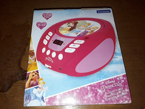 Lot 9383 DISNEY PRINCESS RADIO CD PLAYER BOOMBOX RRP £49.99