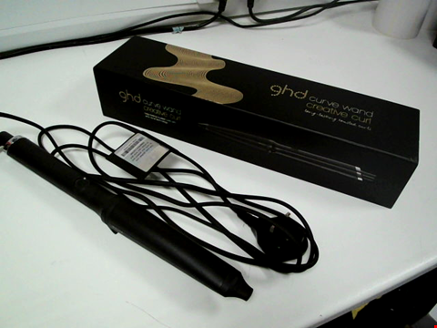Lot 6368 BOXED GHD CREATIVE CURL WAND