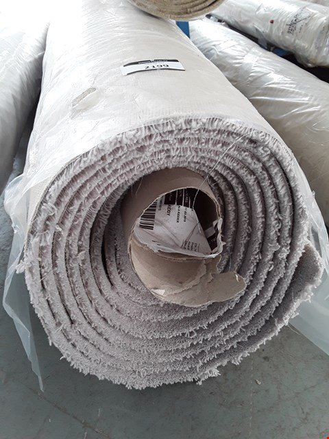 Lot 2199 ROLLED VARIETY TRIALS NATURAL CARPET - MEASURES APPROXIMATELY 6.3 X 4M