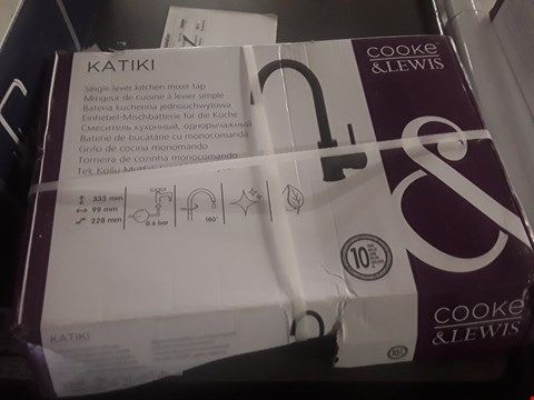Lot 8 BOXED COOKE AND LEWIS KATIKI SINGLE LEVER KITCHEN MIXER TAP  RRP £55