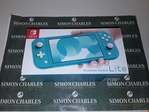 Lot 1248 NINTENDO SWITCH LITE TURQUOISE CONSOLE