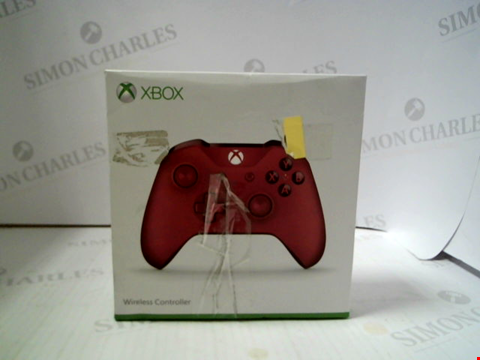 Lot 3162 XBOX WIRELESS CONTROLLER - RED