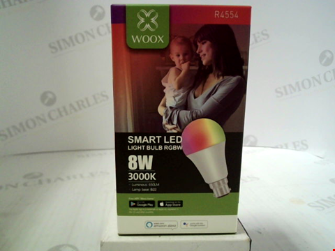 Lot 395 BRAND NEW WOOX SMART LED LIGHT BULB (B22)