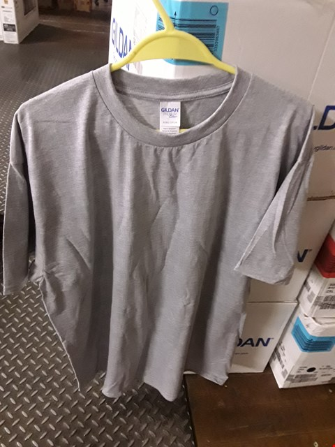 Lot 2290 A LOT OF 10 BRAND NEW GILDEN RS GREY XL SWEATSHIRTS