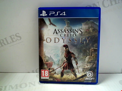 Lot 5806 ASASSINS CREEN: ODYSSEY PLAYSTATION 4 GAME