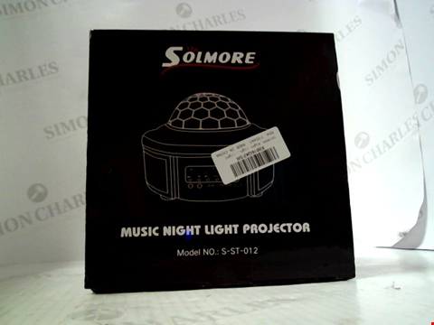 Lot 6286 SOLMORE MUSIC NIGHT LIGHT PROJECTOR