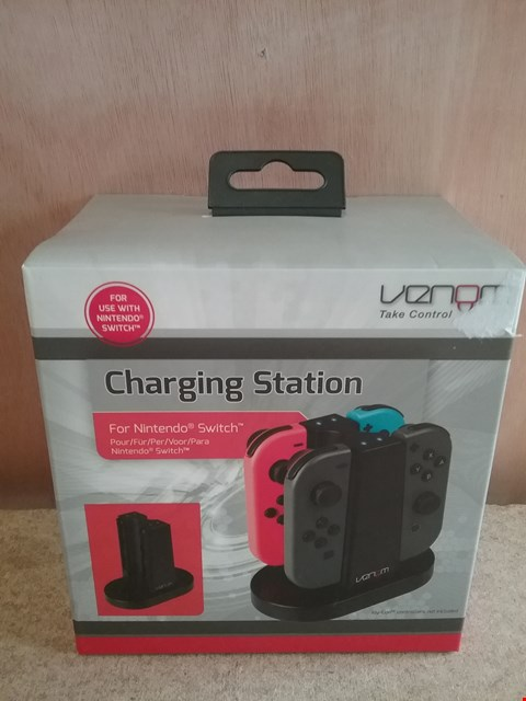 Lot 614 BRAND NEW VENOM CHARGING STATION FOR NINTENDO SWITCH