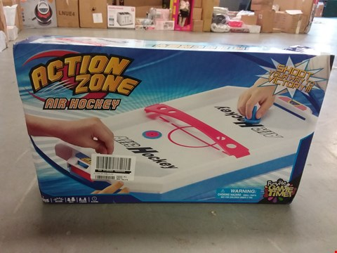 Lot 1050 BRAND NEW ACTION ZONE AIR HOCKEY SET RRP £22.99