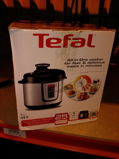 Lot 6347 TEFAL ALL IN ONE COOKER