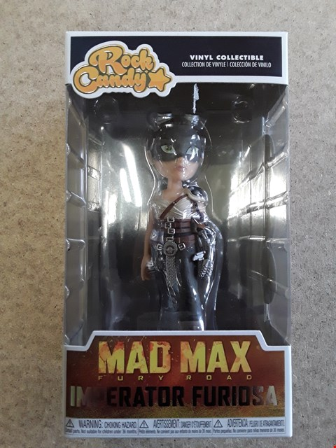 Lot 82 BRAND NEW BOXED ROCK CANDY MAD MAX FURY ROAD: IMPERATOR FURIOSA VINYL COLLECTABLE ACTION FIGURE