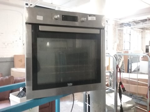 Lot 2154 BEKO STAINLESS STEEL BUILT IN ELECTRIC OVEN