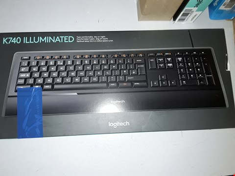 Lot 783 LOGITECH K740 ILLUMINATED KEYBOARD