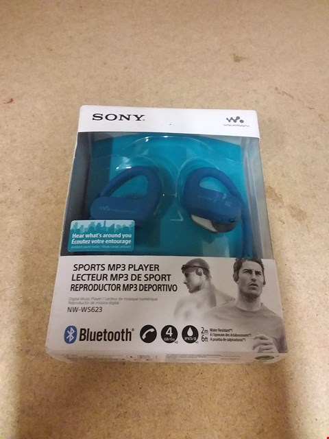 Lot 8256 SONY SPORTS MP3 PLAYER