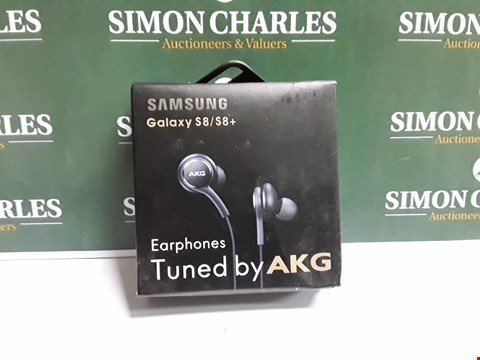 Lot 329 LOT OF 5 SETS OF AKG EARPHONES FOR SAMSUNG GALAXY S8/S8+
