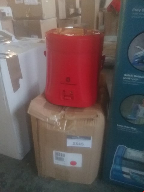 Lot 2345 LOT OF TWO ASSORTED ITEMS TO INCLUDE COOK' ESSENTIALS DEEP FAT FRYER AND A MINI MULTI COOKER