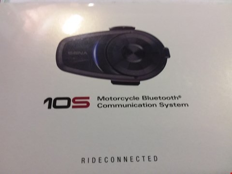 Lot 12171 SENA MOTORCYCLE BLUETOOTH COMMUNICATION SYSTEM