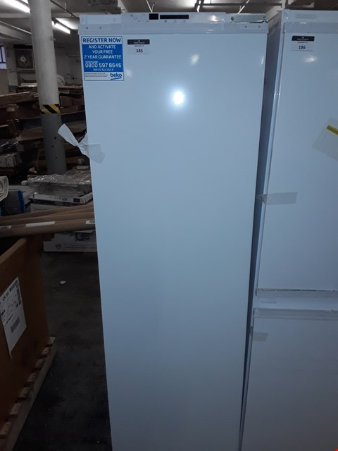 Lot 185 BEKO BUILT IN INTEGRATED REFRIGERATOR  RRP £428