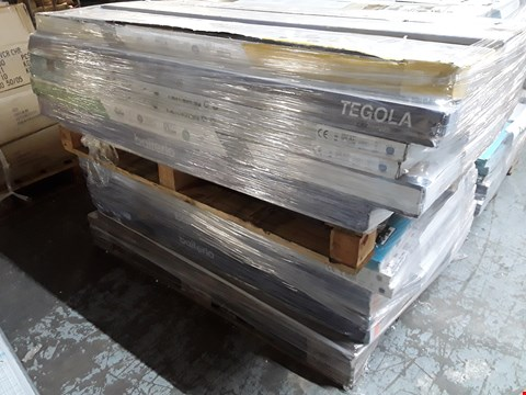 Lot 3004 TWO PALLETS OF ASSORTED LAMINATE FLOORING