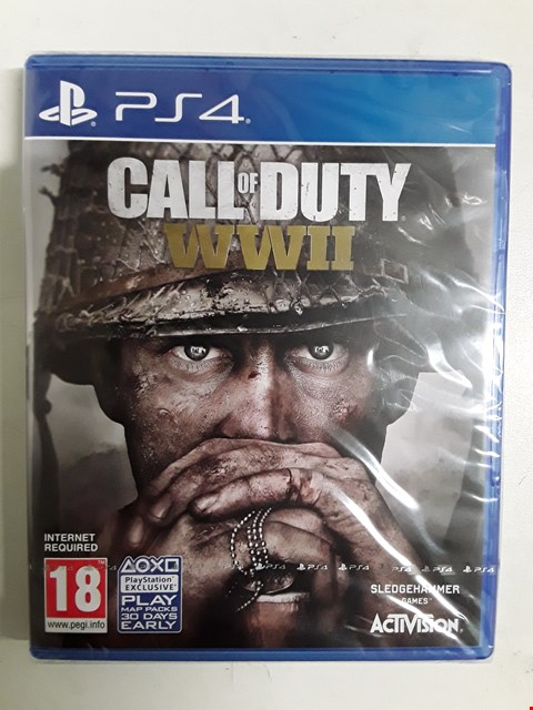 Lot 1530 BRAND NEW BOXED PLAYSTATION 4 GAME CALL OF DUTY WW2 RRP £64.99