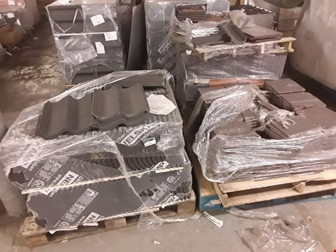 Lot 13025 4 PALLETS OF ASSORTED TILES