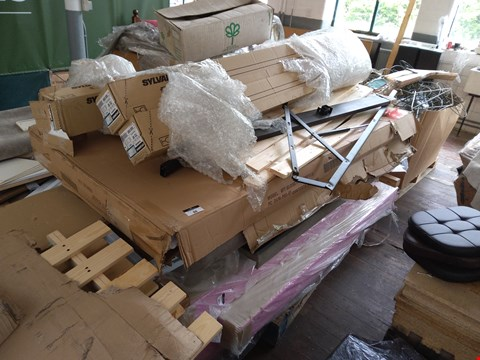 Lot 88 PALLET OF ASSORTED FLAT PACK FURNITURE PARTS