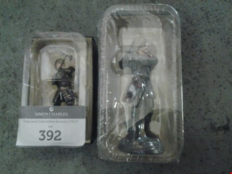 Lot 392 2 ASSORTED GAME OF THRONES FIGURES TO INCLUDE; THE HOUND AND TYRION LANNISTER