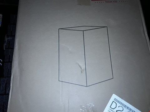 Lot 2429 MONTE CARLO READY ASSEMBLED MIRRORED LAMP TABLE