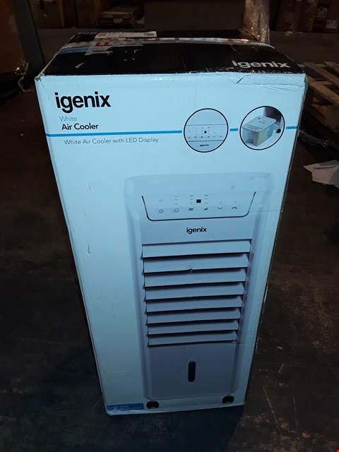 Lot 1204 IGENIX AIR COOLER WITH LED DISPLAY