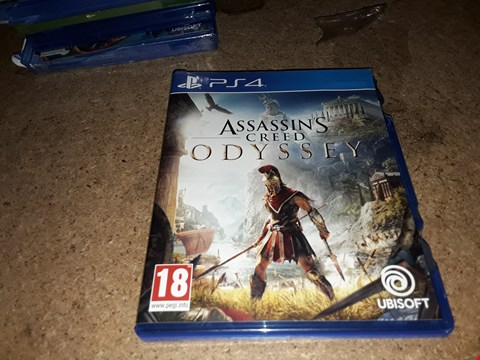 Lot 7295 ASSASSINS CREED ODYSSEY- PS4 RRP £65