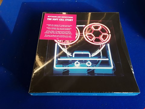 Lot 7682 KEYCHAINS AND SNOWSTORMS THE SOFT CELL STORY BOX SET