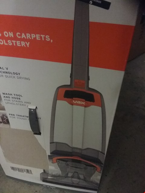 Lot 142 VAX RAPIDE ULTRA 2 CARPET WASHER