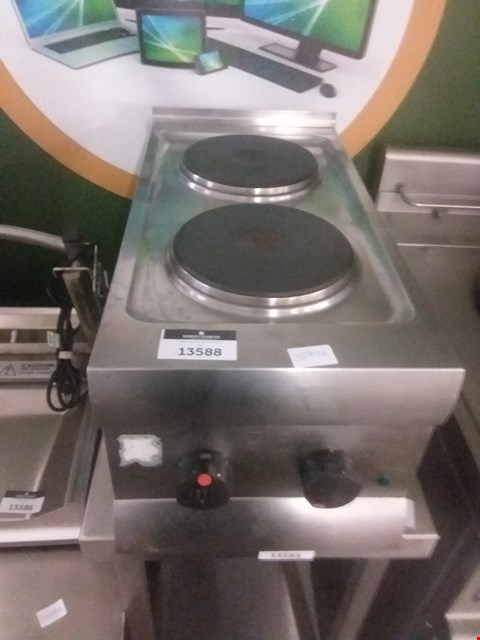 Lot 13588 TABLE TOP TWIN HOB