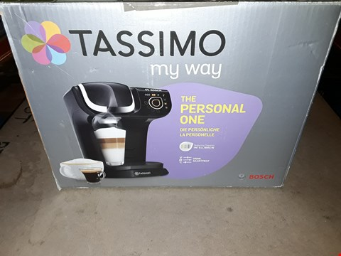 Lot 690 BOSCH TASSIMO MY WAY COFFEE MACHINE