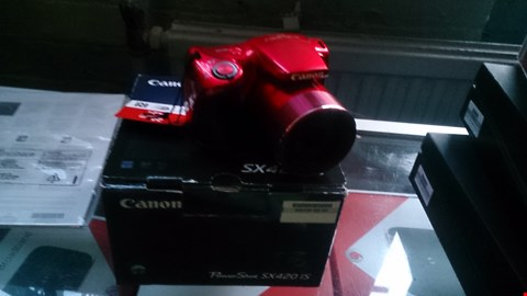 Lot 26 BOXED CANON POWERSHOT SX4020IS