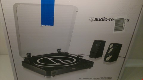 Lot 2 BOXED AUDIO TECHNICA TURNTABLE