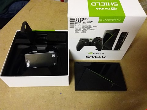Lot 843 NVIDIA SHIELD 4K HDR ANDROID TV BOX
