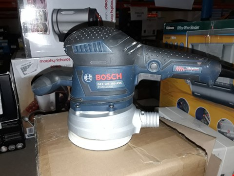 Lot 2345 BOSCH GEX 125-150 AVE PROFESSIONAL ORBITAL SANDER