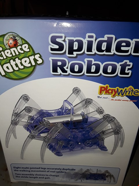Lot 635 SCIENCE MATTERS ) SPIDER ROBOT