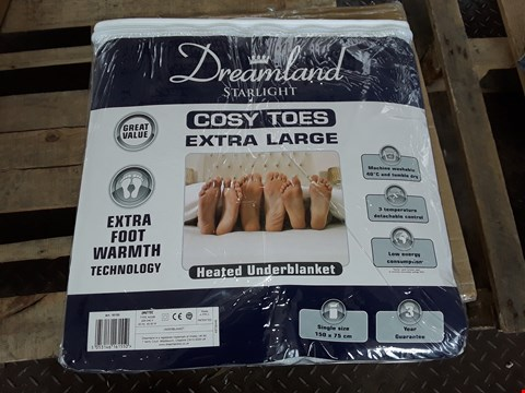 Lot 148 DREAMLAND COSY TOES EXTRA LARGE HEATED UNDERBLANKET - SINGLE