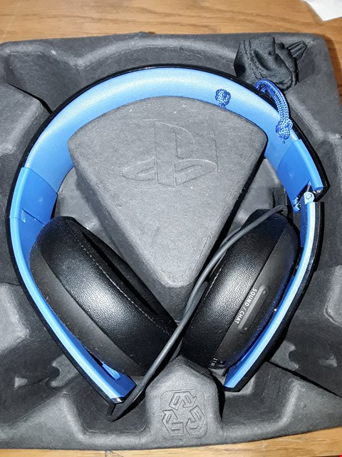 Lot 7195 OFFICIAL SONY WIRELESS STEREO HEADSET 2.0  RRP £115