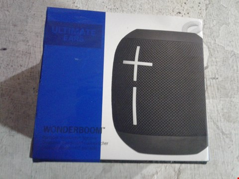 Lot 7303 ULTIMATE EARS WONDERBOOM WIRELESS SPEAKER
