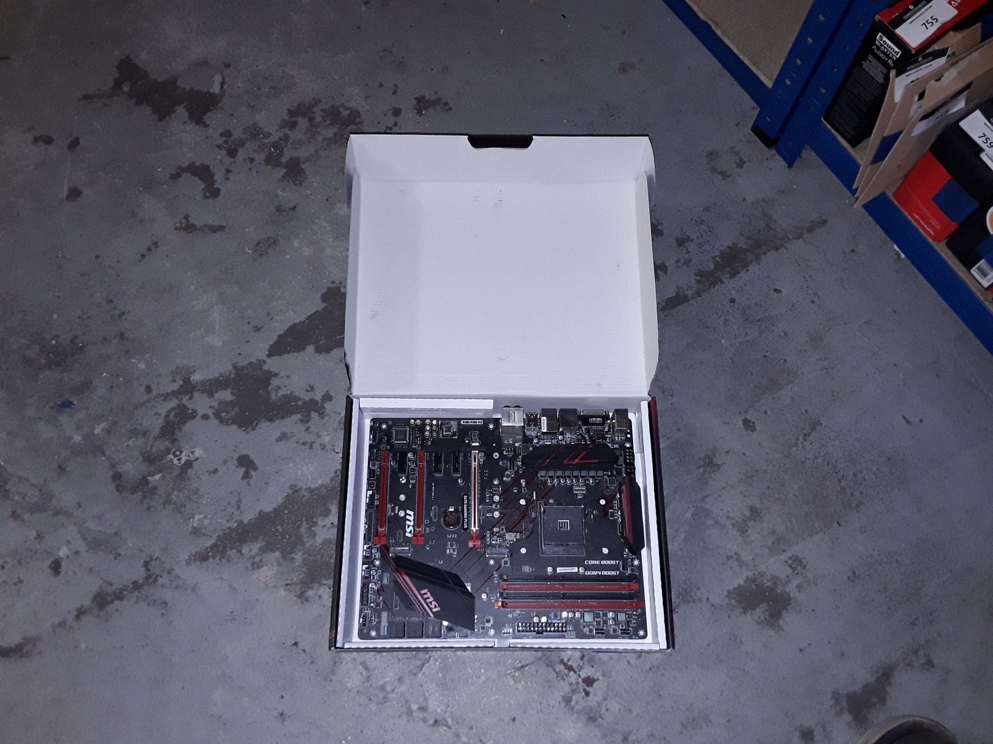Lot 735: MSI X470 GAMING PLUS ATX MOTHERBOARD