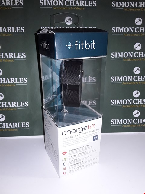 Lot 17 FITBIT CHARGE HR HEART RATE + ACTIVITY TRACKER