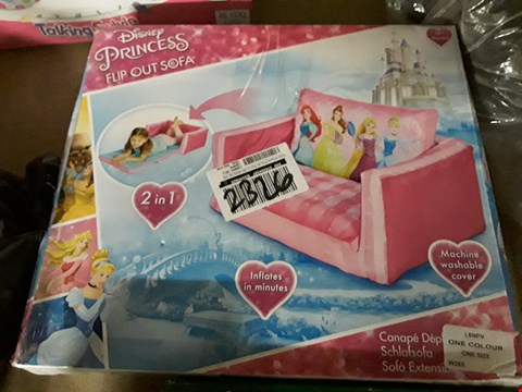 Lot 2326 TWO GRADE 1 ITEMS, DISNEY PRINCESS FLIP OUT SOFA & 2.5M × 2.5M POP UP GAZEBO SIDES GREEN