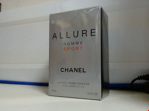 Lot 6411 CHANEL ALLURE HOMME SPORT AFTER SHAVE LOTION
