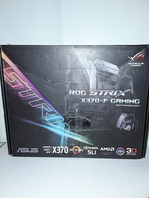 Lot 4012 ASUS X370-F GAMING MOTHERBOARD