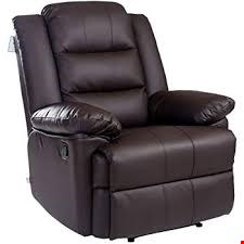 Lot 1130 DESIGNER BOXED LOXLEY BROWN LEATHER MANUAL RECLINING ARMCHAIR