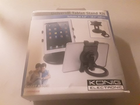 Lot 4021 BOXED KONIG ELECTRONIC UNIVERSAL TABLET STAND KIT